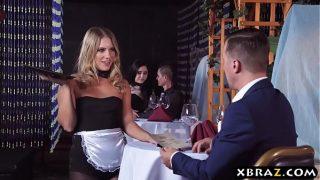 Candice Dare Waitress Mid 20 Public Rough Anal Sex